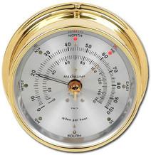 Maestro – Brass case, Silver dial