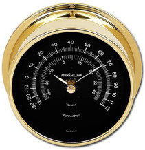 Criterion – Brass case, Black dial
