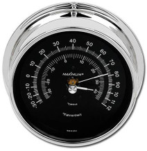 Criterion – Chrome case, Black dial