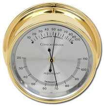 ComfortMinder – Brass case, Silver dial