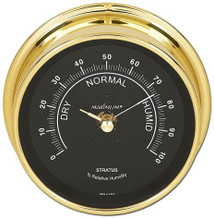 ComfortMinder – Brass case, Black dial