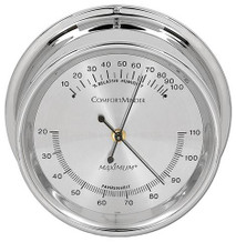 ComfortMinder – Chrome case, Silver dial