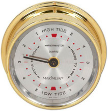 Harbormaster – Brass case, Silver dial