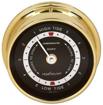 Harbormaster – Brass case, Black dial