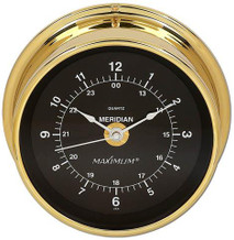 Meridian – Brass case, Black dial