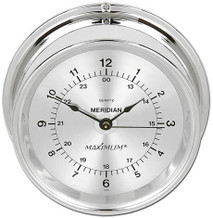 Meridian – Chrome case, Silver dial