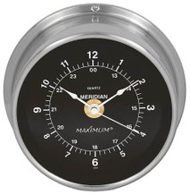 Meridian – Nickel case, Black dial
