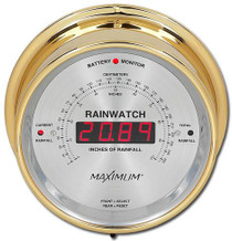Rainwatch – Brass case, Silver dial