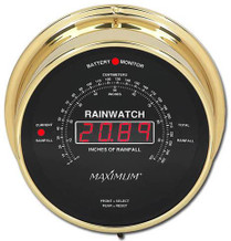 Rainwatch – Brass case, Black dial