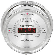 Rainwatch – Chrome case, Silver dial