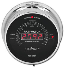 Rainwatch – Chrome case, Black dial