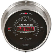 Rainwatch – Nickel case, Black dial
