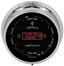 Cronus – Chrome case, Black dial