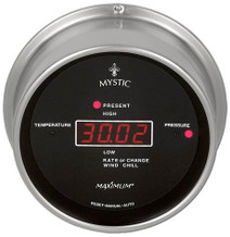 Wireless Mystic – Nickel case, Black dial