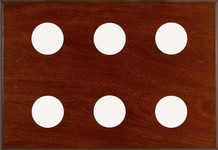 6-Instrument Mahogany Panel