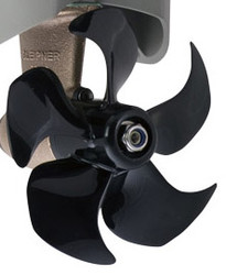 Side power sm101271rh 5 blade composite propeller right for Muir windlass motor replacement