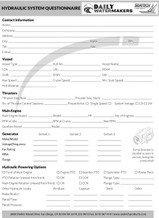 Side-Power Stabilizer Questionnaire