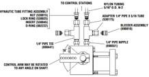 Hynautic ST-06 Marine Engine Control Integrated Throttle Slave