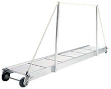 """Gangway """"PA160.35"""", Manual Gangway 3500mm Alum w/Alum Deck Finish"""