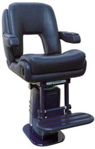 "P217 ""President Sport"" w/Elec. Adj. Pedestal & Footrest Owner Supplied Finish"