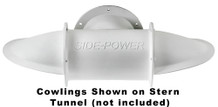 """SM90560 Set of Cowlings for 386mm (15.2"""") Stern Tunnel Composite"""