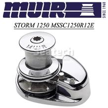 Muir Storm 1250 Capstan 12V Windlass MSSC1250R12E