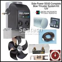 Side-Power SE60 Complete Bow Thruster Kit