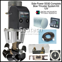 Side-Power SE80 Complete Bow Thruster Kit