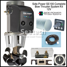 Side-Power SE100 Complete Bow Thruster Kit