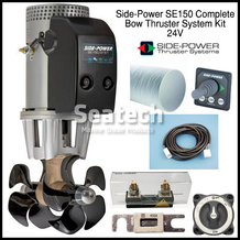 Side-Power SE150 Complete Bow Thruster Kit