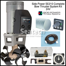 Side-Power SE210 Complete Bow Thruster Kit