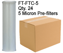 Spectra 5 Micron Pre-filters FT-FTC-5 Case Qty