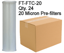 Spectra 20 Micron Pre-filters FT-FTC-20 Case Qty