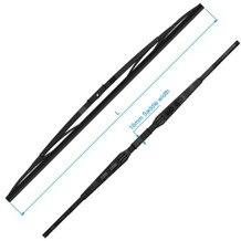 "W50 Wiper Blade, Black SS, 38"" RC520838"