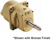 Kobelt 7012-BN Variable Displacement 4.0-12.0 Hydraulic Marine Helm Pump - Black Epoxy Finish with Short Shaft Shaft