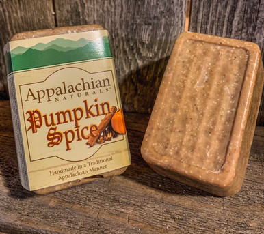 Pumpkin Spice Appalachian Natural Soap