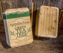 Green Tea Tree & Chamomile Appalachian Natural Soap