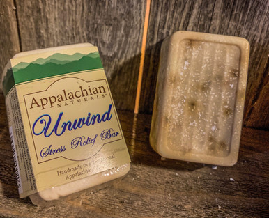 Unwind Stress Relief Appalachian Natural Soap