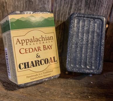 Cedar Bay & Charcoal Appalachian Natural Soap