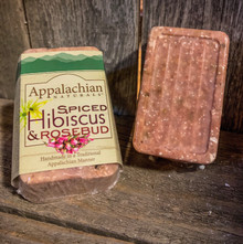 Spiced Hibiscus Rosebud Soap