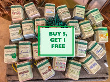 Buy 5 Soaps Get 1 Soap Free