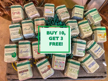 Appalachian Natural Soap Buy 10 Get 3 Free