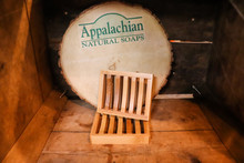 Appalachian Natural Soap Dish