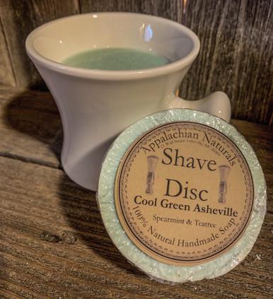 Vintage Shaving Mug (Filled w/Cool Green Asheville Shave Soap)