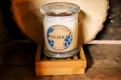 Patchouli Natural Soy Lotion Candle
