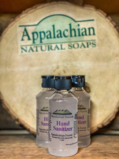 Appalachian Forest Natural Hand Sanitizer