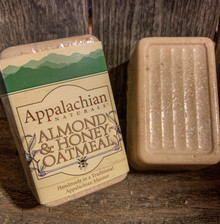 Almond Honey Oatmeal Appalachian Natural Soap