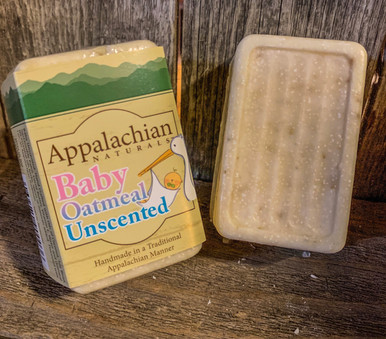 Baby Oatmeal Unscented Appalachian Natural Soap