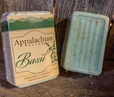 Basil Camper's Friend Appalachian Natural Soap
