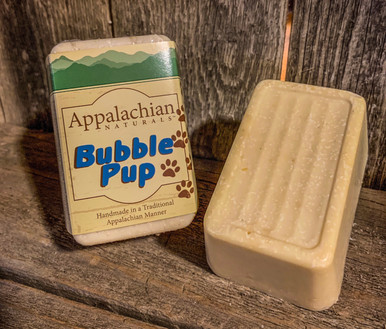 Bubble Pup Appalachian Natural Soap